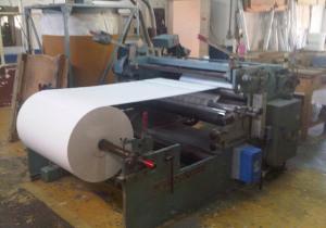 "53"" (1.35M) La Meccanica Trl 1350 Cash Roll Slitter, 49"" (1250Mm) Unw 12"" (300Mm) Rew"