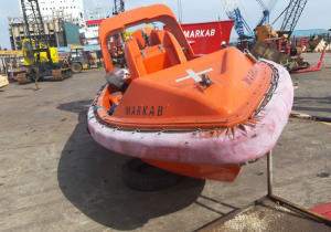 RESCUE BOAT (15 P) WITH DAVIT SYSTEM