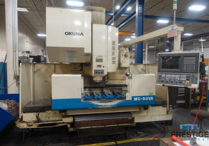 Okuma Mc-50Va Cnc Vertical Machining Center