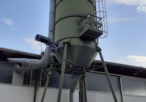 Sawdust silo