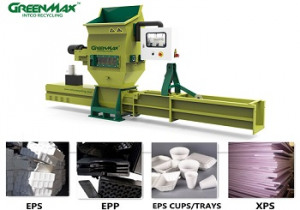 Professional EPS recycling machine-GREENMAX A-C200 compactor