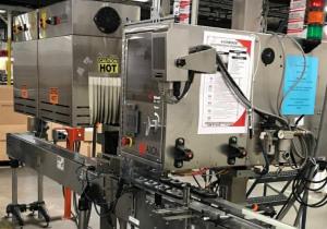Axon Ez-48 Shrink Sleeve Labeler W/ Heat Tunnel
