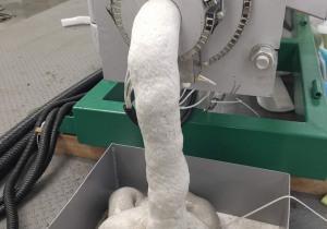 Efficient foam densifier of GREENMAX M-C200 machine
