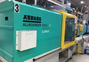 Arburg 224-Ton All-Electric Plastic Injection Molding Machine 2012