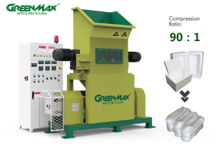 Professional EPS densifier-GREENMAX M-C100 melter