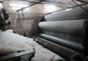 Wool carding machine. Houget Duesberg Bosson (HDB)