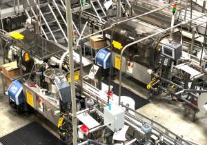 Étiqueteuse à rouleau Trine 4500 - Année 2014