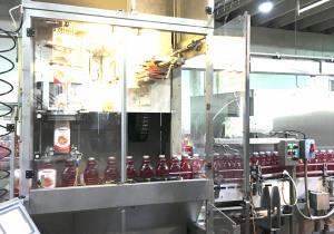 Fuji 4200-De-Stm Full Bottle Sleeve Labeler