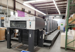 "2006 Heidelberg CD 102 5 L SE 5/C 40"" Plus coating Tower"