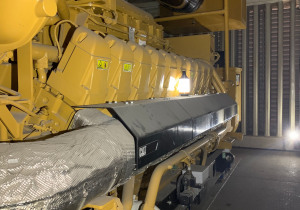 Caterpillar G3520C - 2000Kw Natural Gas Generator