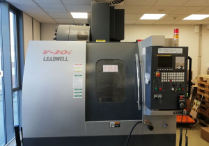 LEADWELL V-30i  vertical machining center