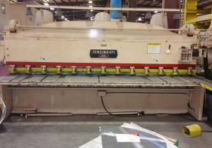 Cincinnati Mechanical Shear – Series 25 (Gresham, Or)