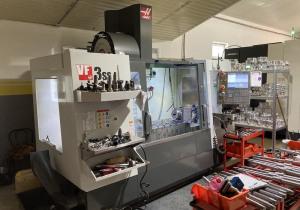 Haas VF-3SS machining center