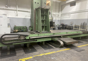 "5"" Giddings & Lewis Cnc Table-Type Boring Mill"