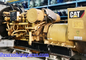 Caterpillar 3512 Low Running-1354hrs, Year 2012 Radiator Cooled Caterpillar Diesel Generator set For Sale Only 1354 Running Hour Since Original
