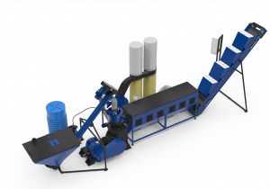 Equipment for the production of pellets and compound feed MLG-1000 COMBI (capacity up to 1000 kg / hour)