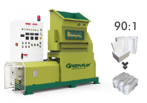 Hot sale GREENMAX M-C200 Styrofoam densifier
