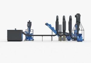 Full pelleting cycle (mini pellet production plant)