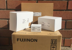 "Fujinon XA20x8.5 BERM-K3 2/3"" HD Lens with MS01 Control Kit"