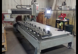 2008 Haas Gr-512 Cnc Gantry Router, 5 ′ X 12 ′ Table