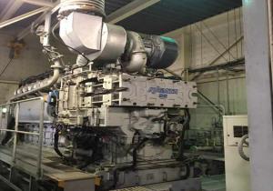 Niigata 8L22AG Gas Generators sets x 2 units