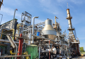Waste Oil Refinery Process Plant for sale