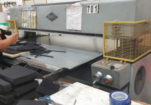 Used 60 Ton Samco Hytronic Cutting Press: Model 60-62