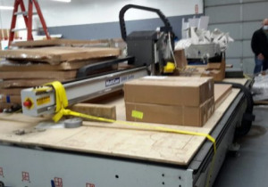 Used Multicam 7′ X 12′ 3 Axis Cnc Router, New In 2015