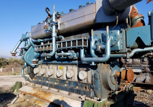 2 x Man B&W Alpha 6L 23/30-DVO Marine Diesel Engines For Sale
