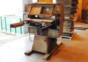 """Schwabe Dg Die Cutter 30"""" X 34"""" Cutting Area, 35 Ton"""
