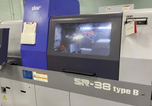 Star CNC SR-38 Type B Swiss Screw Machine