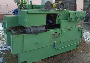 Double shaft multi rip saw + Feeders A.Costa Leopard multi-saw multi-blade multisaw multiblade multirip