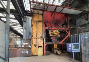 WASTE SHREDDER SIDSA SID S250 + BRESCHARD ETMC 1000.550 CONVEYOR
