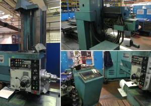 Horizontal boring machine type WH 10 NC