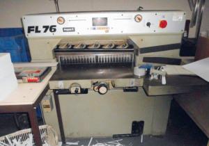 Wohlenberg-FL 76 Guillotine
