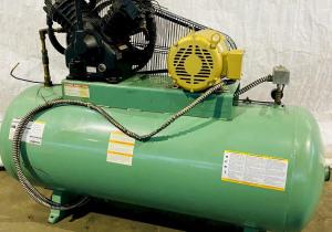 10 Hp Dayton 5Z362 Horizontal Air Compressor.