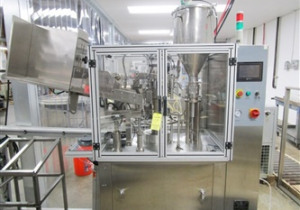 Total Packs Model Tfs-100A Automatic Hot Air Tube Filler