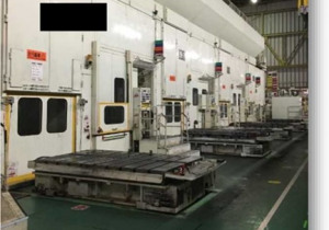 KOMATSU tandem press line 800 ton x 2, 400 ton x 2