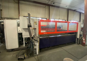 4.4 KW BYSTRONIC BYSTAR 3015 CO2 LASER W/ROTARY AXIS,MFG:2006