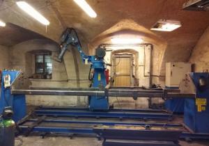 Welding robot Yaskawa HP 20 RD