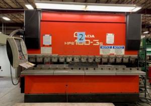 """PRESSE PLIEUSE CNC AMADA HFE 1003S / 7 110 TONNES X 122 """""""