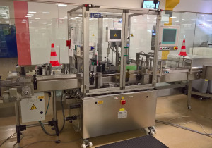 Neri SL 400 self-adhesive labelling machine for bottles, etc.