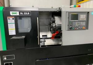 Centre de tournage CNC Dmc modèle Dl 22Lb, nouveau 2019