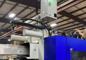 Used 730 Ton Demag Titan 730/1075-4300 Injection Molding Machine