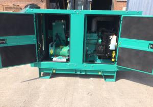 30 kVA Cummins C33D5 Diesel Generator Set