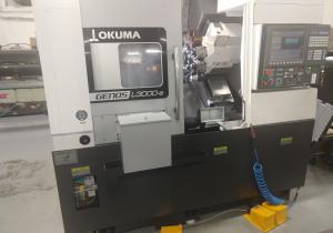 Okuma Genos L3000My-e400 CNC Lathe