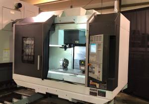DMG Mori Dura Vertical 5100 4-Axis CNC Vertical Machining Center