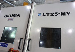 Okuma LT25MY 8-AXIS CNC Turning & Milling Center