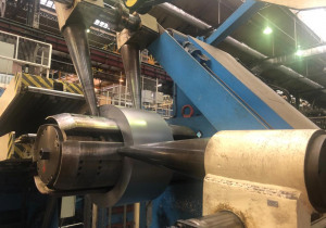 Mechanical Press CATTANEO PRESSE 800 ton with COIL LINE brand SARONNI