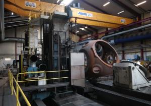 Floor types WMW - BP 160 CNC Floor type Horizontal borer Ø 160 with Y 4000 mm 6368 = Mach4metal